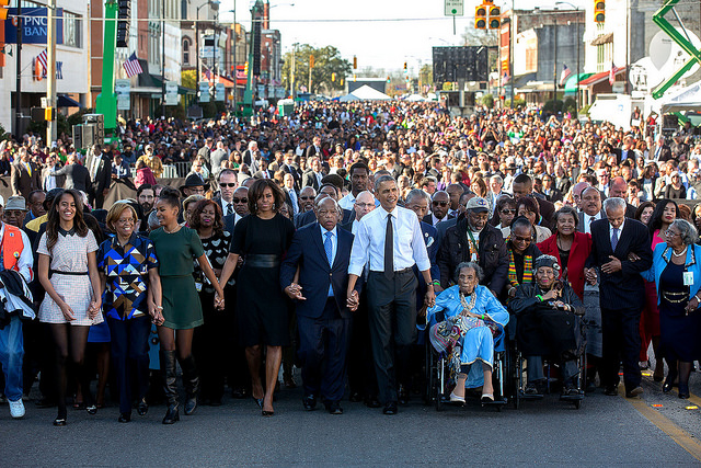 50th Anniversary Of March On Selma
