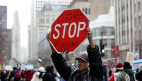 Chicago Protesters Attempt To Disrupt Last Minute Holiday Shopping