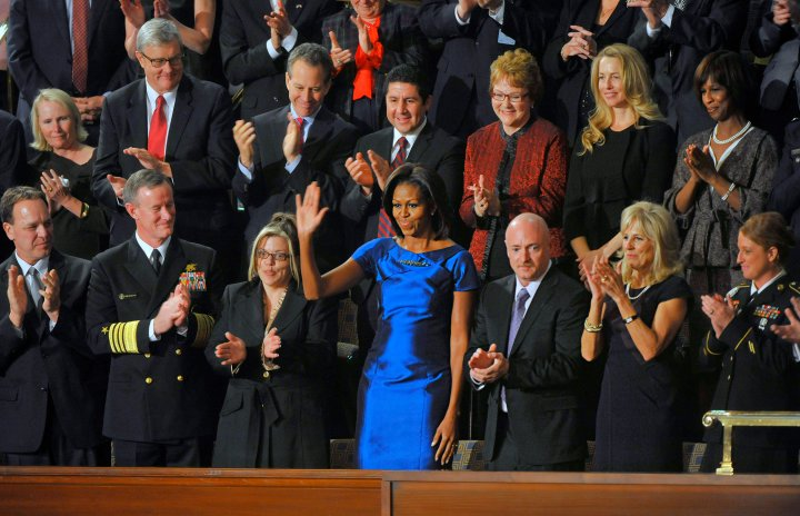 The State Of The Union Address in 2012.