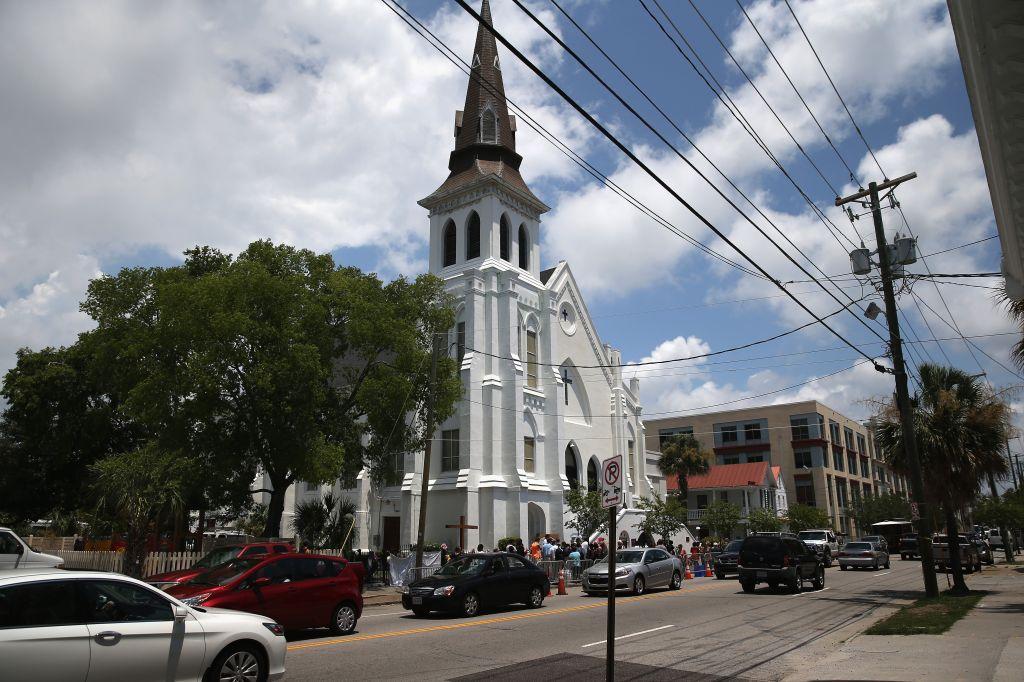 Charleston Marks One Month Anniversary Of Church Shootings