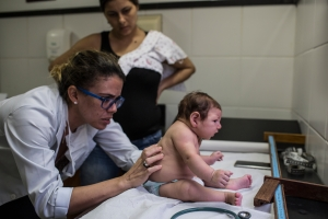 Suspected zika-related microcephaly in Brazil