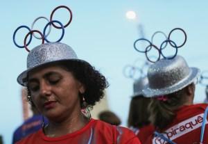 Carnival Rehearsals Take Place At Rio's Sambodrome