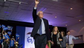 Bernie Sanders on Caucus night