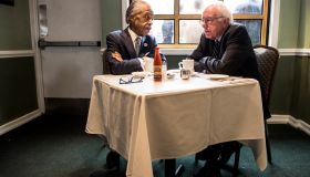 Bernie Sanders Meets With Al Sharpton In New York