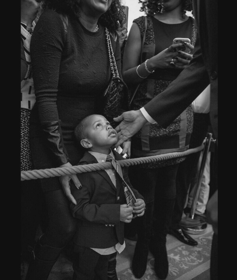 Obama And Child