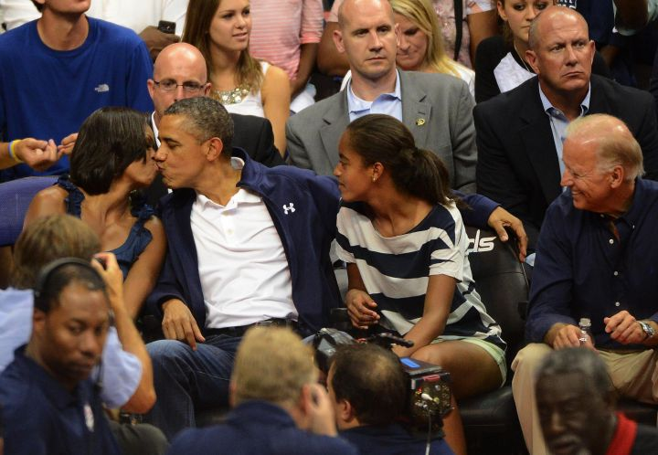 Obama Loves Team USA & His Wife