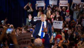 Donald Trump in West Chester, Ohio.