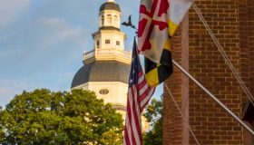 Historic Maryland State House in Annapolis, Maryland, USA