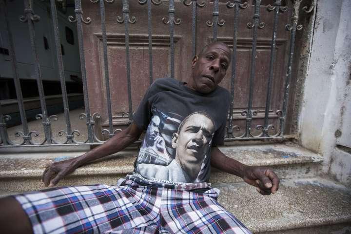 Cuban President Barack Obama Supporter