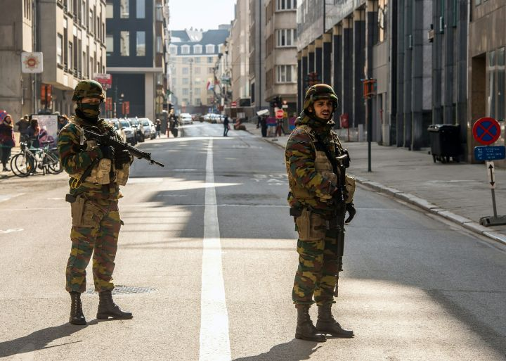 Soliders In Brussels