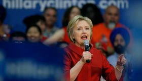 Hillary Clinton Campaigns In Phoenix One Day Before Arizona Primary