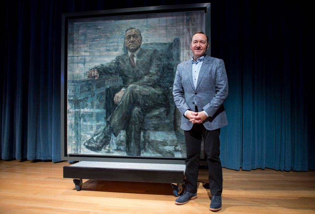 The Smithsonian And Netflix Host A Portrait Unveiling And Season 4 Premiere Of 'House Of Cards' - Press Conference