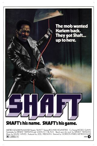 Poster For 'Shaft'