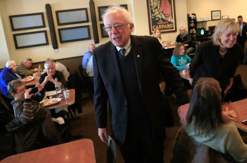 Bernie Sanders Campaigns In Wisconsin On Day Of State Primary
