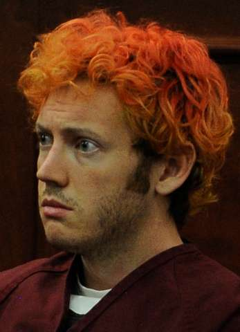 James Holmes, the man accused of killing 12 people and injuring 58 others in the movie theater shooting appeared before Arapahoe County District Court Judge William B. Sylvester Monday July 23, 2012 for an advisement hearing. RJ Sangosti, The Denver Post
