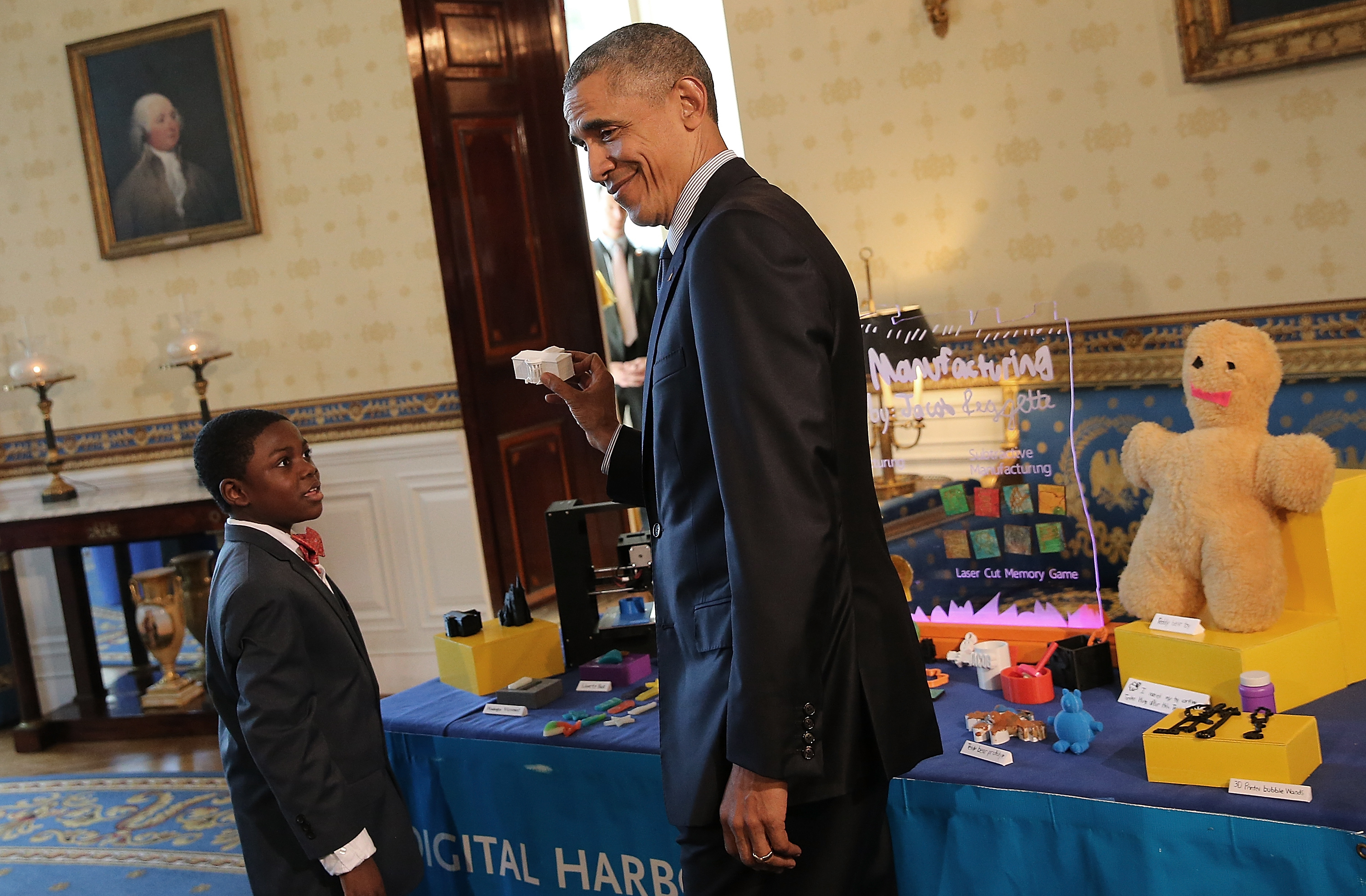 President Obama Attends White House Science Fair