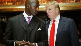 Donald Trump and His Latest 'Apprentice' Randal Pinkett Search for the Next 'Apprentice' Candidates