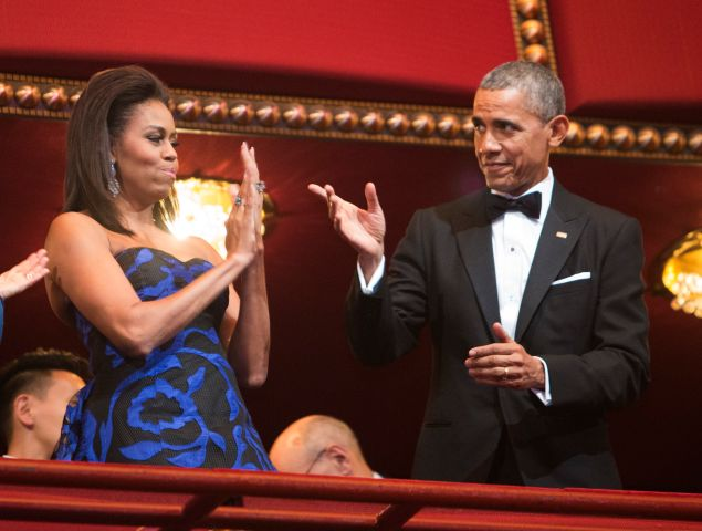 US-ARTS-AWARDS-OBAMA