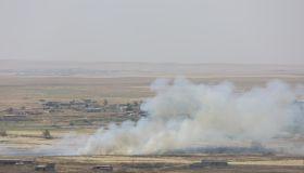 Clashes between Daesh and Peshmerga