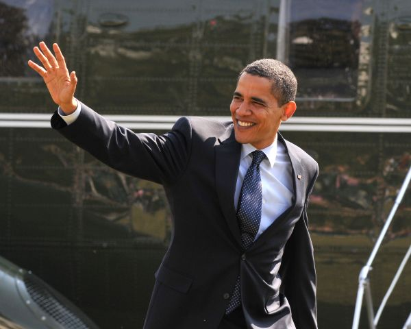 President Obama Returns To White House