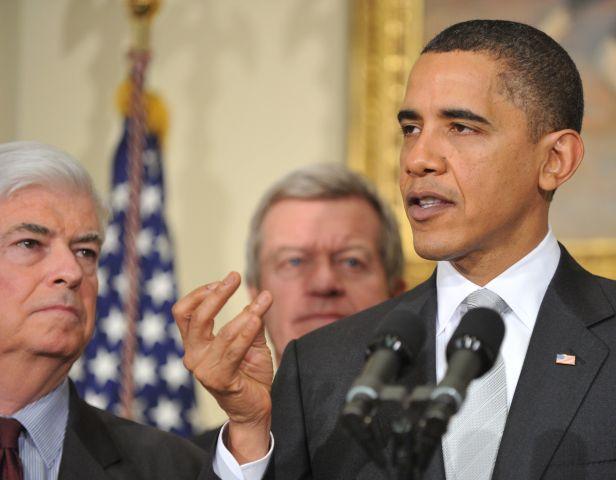Senate Democrats Meet With Obama On Health Care Reform
