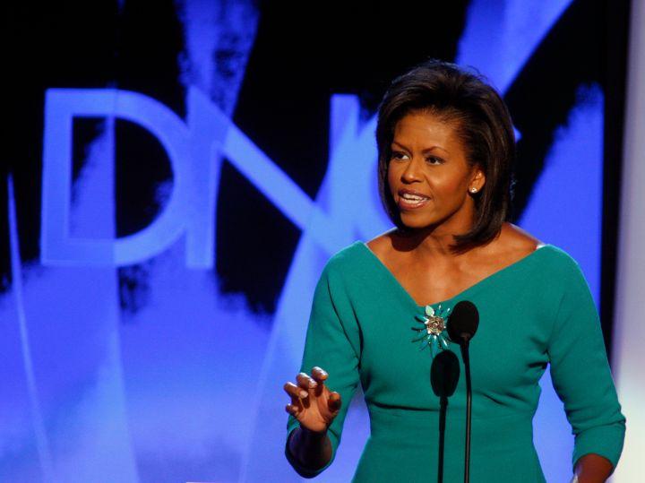 Michelle Obama in 2008