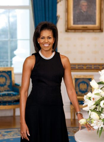 First Lady Michelle Obama.