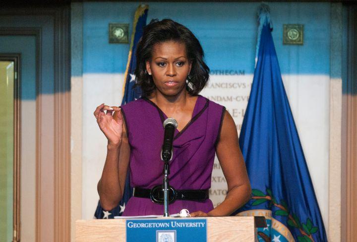 Michelle Obama in 2011