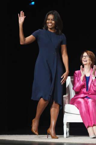 Glamour Hosts 'The Power Of An Educated Girl' With First Lady Michelle Obama