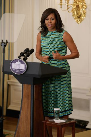 Michelle Obama And Jill Biden Host Employment Event For Vets At White House