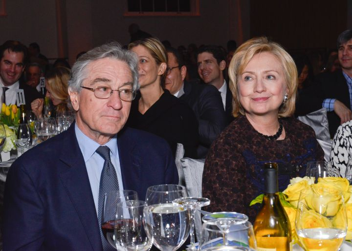Hillary Clinton With Robert DeNiro