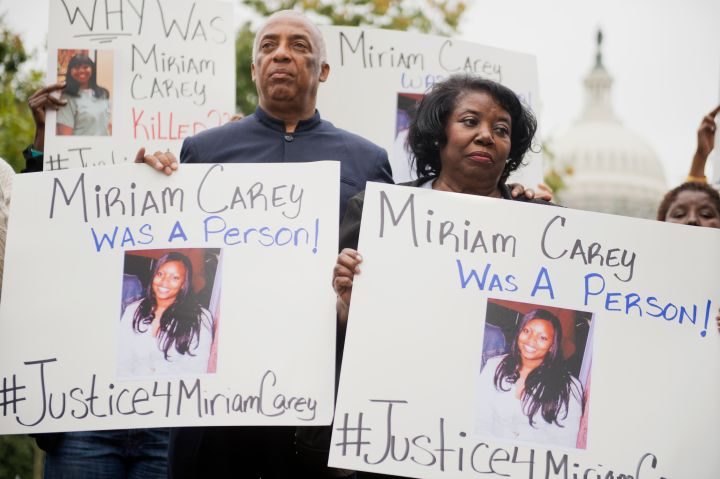 Miriam Carey Protest