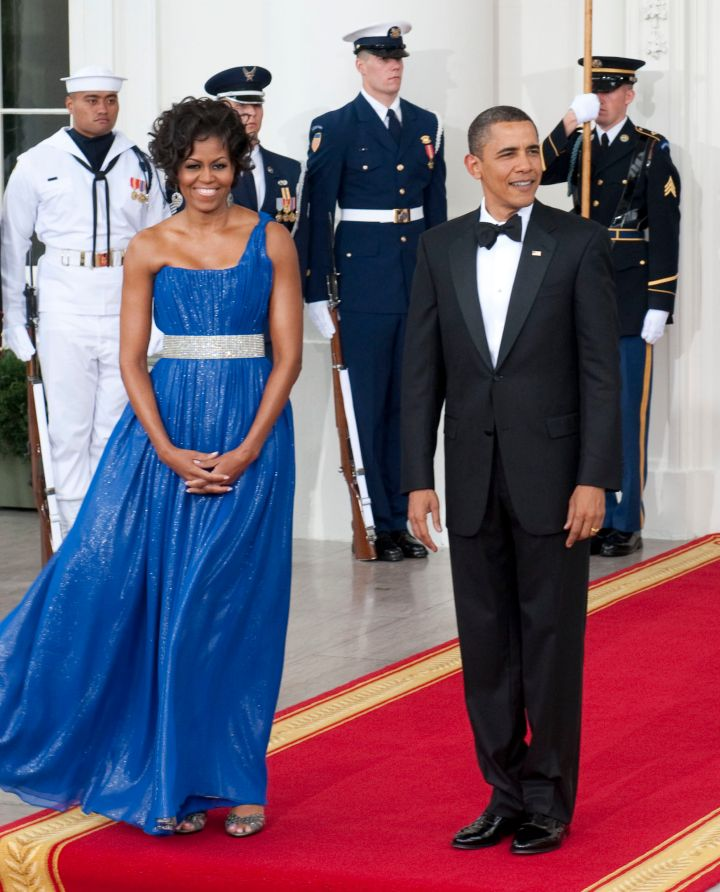 Michelle and Barack host a State Dinner