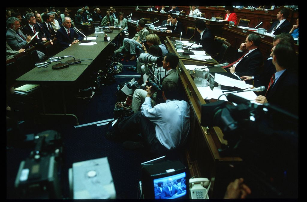 Whitewater Hearings In Congress