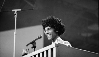 Shirley Chisholm At Democratic National Convention
