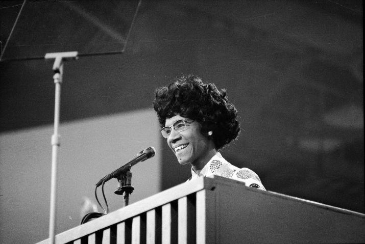 Shirley Chisholm At Democratic National Convention