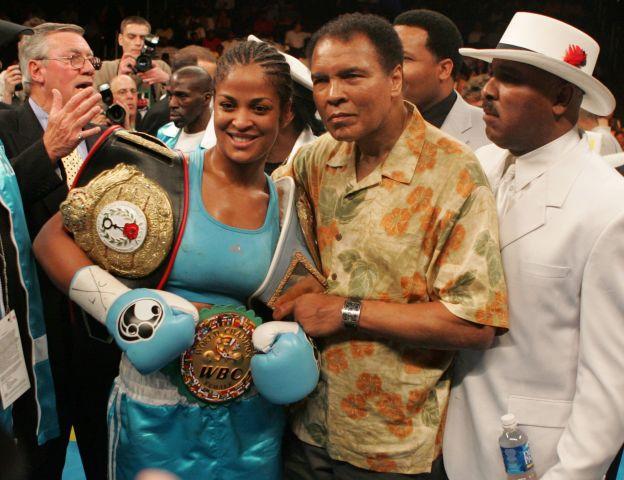 WBC/WIBA Super Middleweight Title - Laila Ali vs Erin Toughill - June 11, 2005