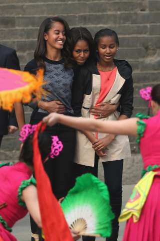 First Lady Michelle Obama Travels to China - Day 5
