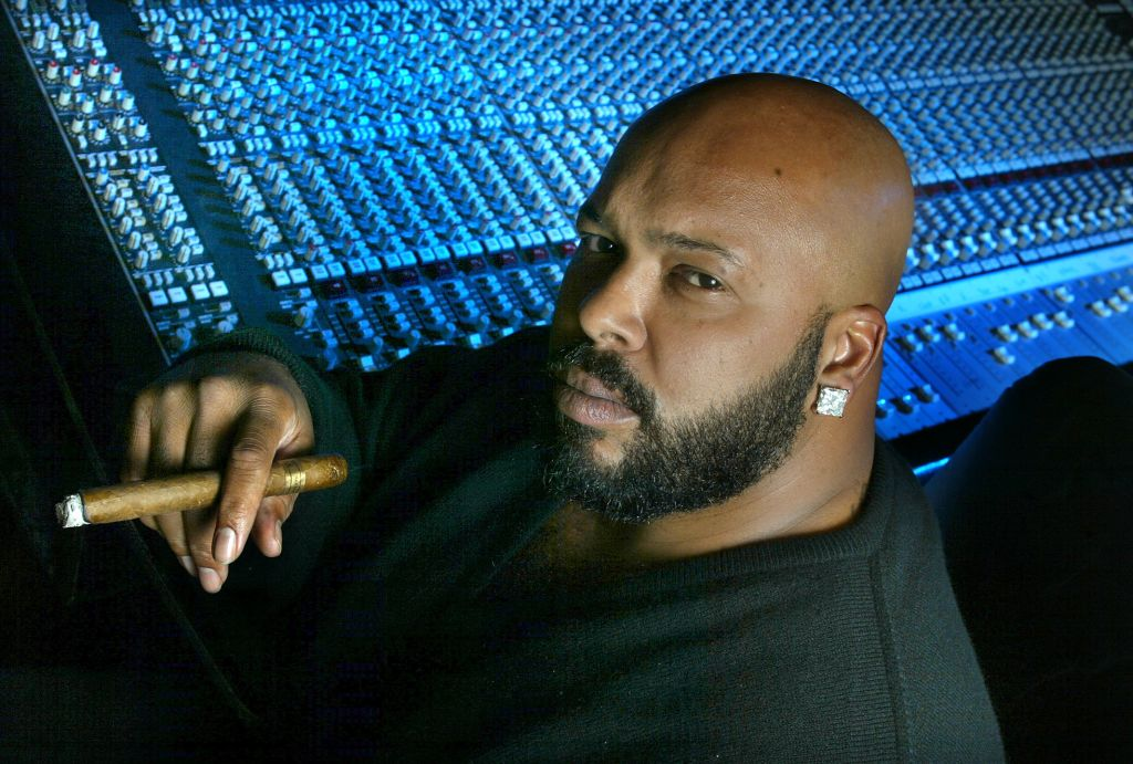 SUGE KNIGHT inside his Track Recording studio, November 30, 2002. (LOS ANGELES TIMES PHOTO BY ^^^)