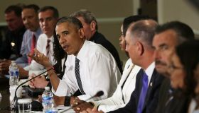 President Obama Hosts Conversation On Community Policing And Criminal Justice At White House
