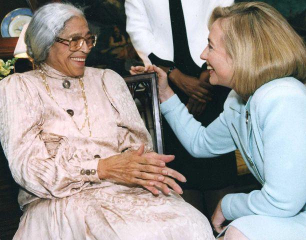 Rosa Parks File Photos - 1990's