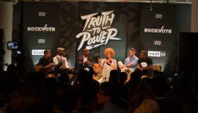 2016 DNC Rock The Vote Panel