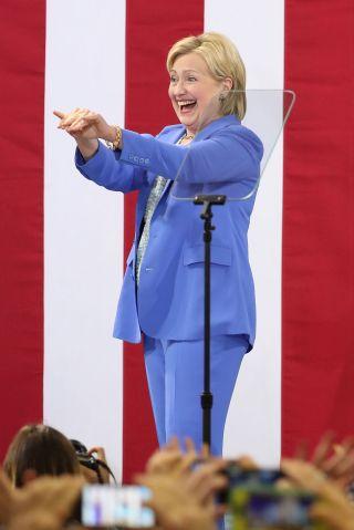 Senator Bernie Sanders Endorses Hillary Clinton In New Hampshire