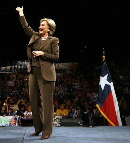 Hillary Clinton Attends Campaign Rally In El Paso