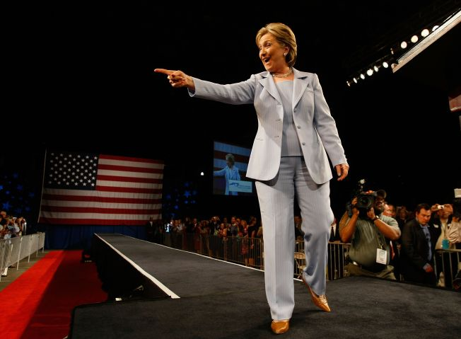 Hillary Clinton Campaigns Ahead Of Indiana And North Carolina Primaries