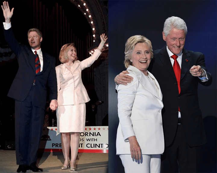 Hillary Clinton's Pantsuit Evolution