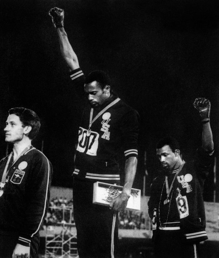 Black Power At The Mexico Olympics (1968)