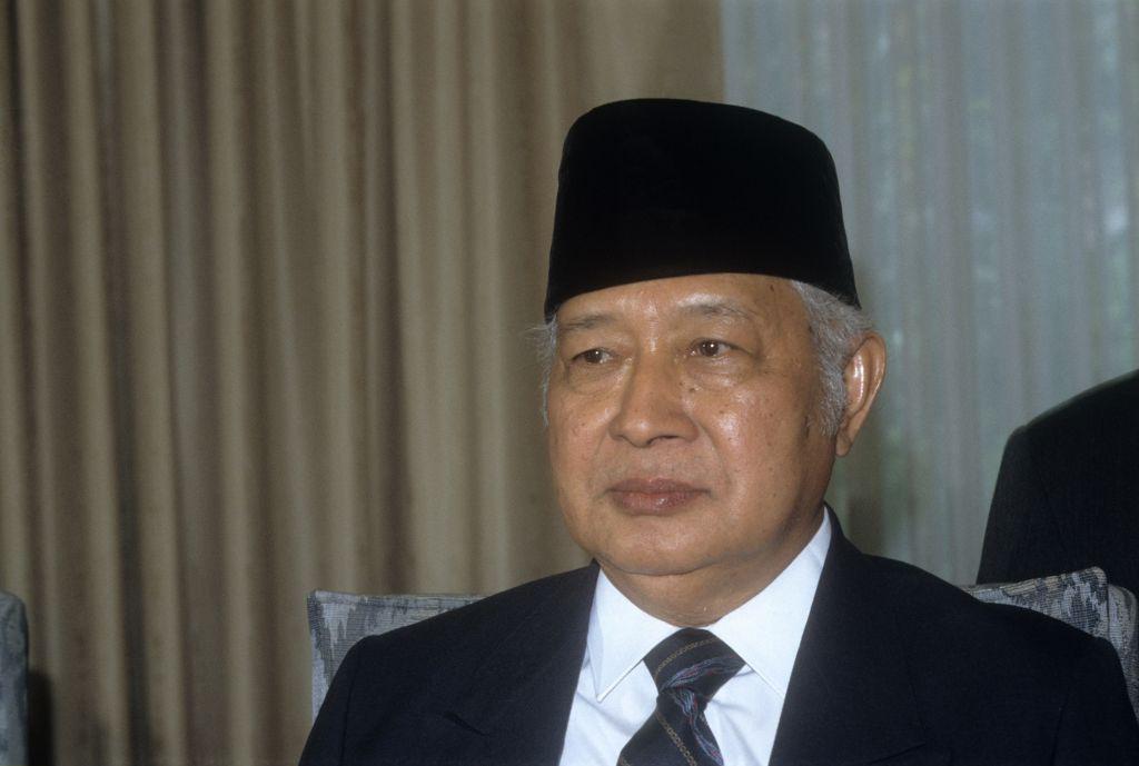 Suharto - General, Indonesien
