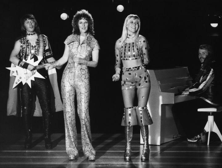 7) ANNI-FRID LYNGSTAD and AGNETHA FALTSKOG (ABBA)