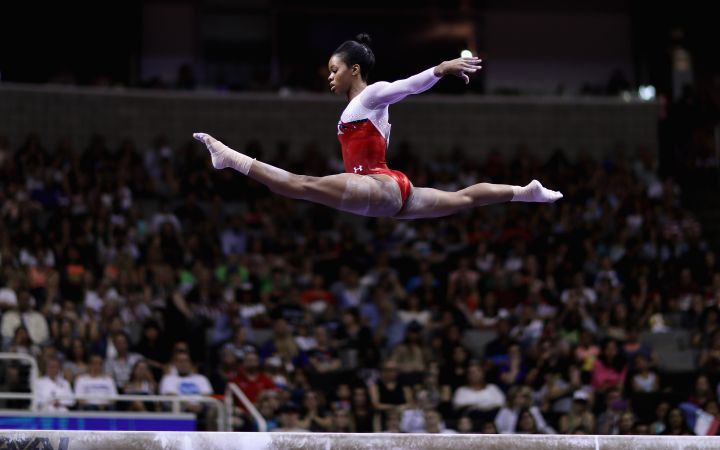 Gabby Douglas Makes Gymnastics History (2012)